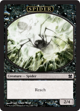 Spider Token | Magic: The Gathering Card