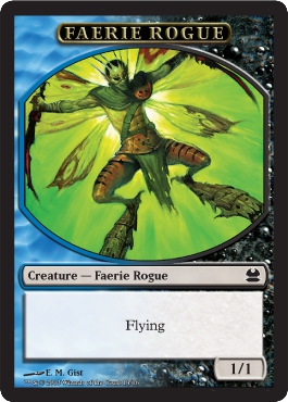 Faerie Rogue Token | Magic: The Gathering Card