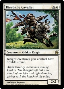 Kinsbaile Cavalier | Magic: The Gathering Card