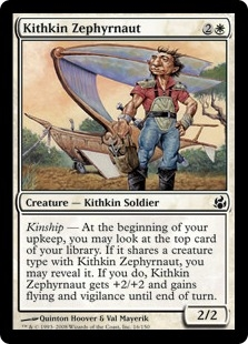 Kithkin Zephyrnaut | Magic: The Gathering Card