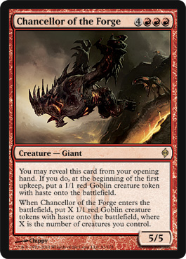 Chancellor of the Forge | Magic: The Gathering Card