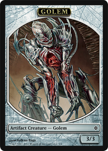 Golem Token | Magic: The Gathering Card