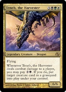 Teneb, the Harvester | Magic: The Gathering Card