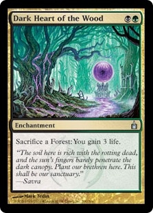 Dark Heart of the Wood | Magic: The Gathering Card