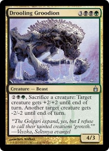 Drooling Groodion | Magic: The Gathering Card