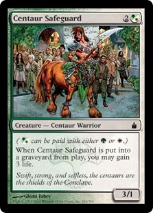 Centaur Safeguard | Magic: The Gathering Card