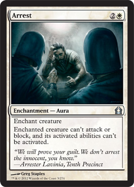 Arrest | Magic: The Gathering Card