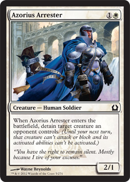 Azorius Arrester | Magic: The Gathering Card