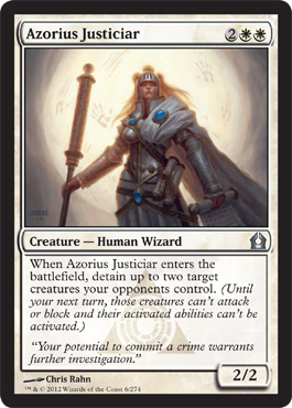 Azorius Justiciar | Magic: The Gathering Card