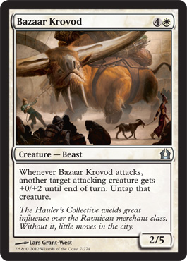 Bazaar Krovod | Magic: The Gathering Card