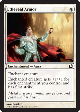 Ethereal Armor | Magic: The Gathering Card