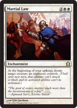 Martial Law | Magic: The Gathering Card