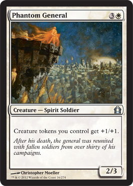 Phantom General | Magic: The Gathering Card