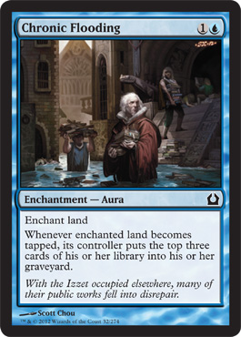 Chronic Flooding | Magic: The Gathering Card