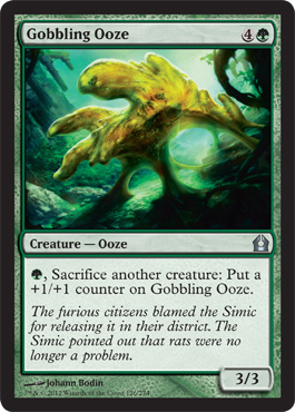 Gobbling Ooze | Magic: The Gathering Card