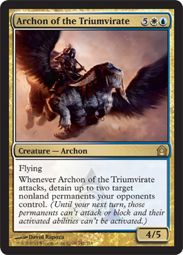 Archon of the Triumvirate | Magic: The Gathering Card