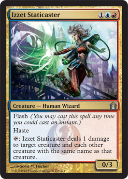 Izzet Staticaster | Magic: The Gathering Card