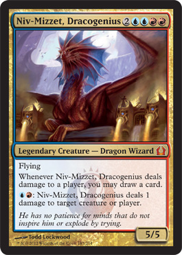 Niv-Mizzet, Dracogenius | Magic: The Gathering Card