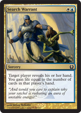 Search Warrant | Magic: The Gathering Card