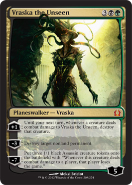 Vraska the Unseen | Magic: The Gathering Card