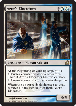 Azor's Elocutors | Magic: The Gathering Card