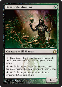 Deathrite Shaman | Magic: The Gathering Card