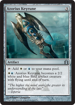 Azorius Keyrune | Magic: The Gathering Card