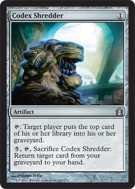 Codex Shredder | Magic: The Gathering Card