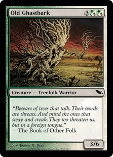 Old Ghastbark | Magic: The Gathering Card