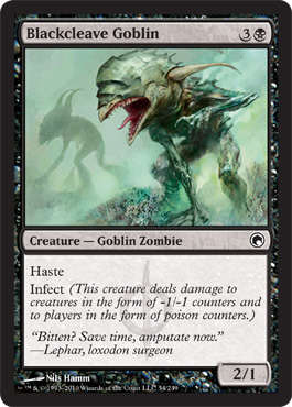 Blackcleave Goblin | Magic: The Gathering Card