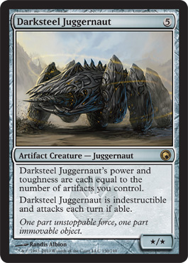 Darksteel Juggernaut | Magic: The Gathering Card