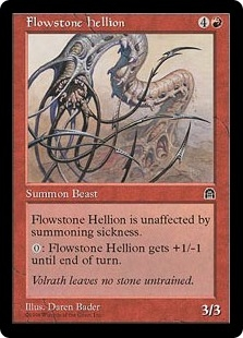 Flowstone Hellion | Magic: The Gathering
