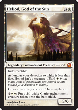 Heliod, God of the Sun | Magic: The Gathering Card