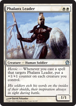 Phalanx Leader | Magic: The Gathering Card