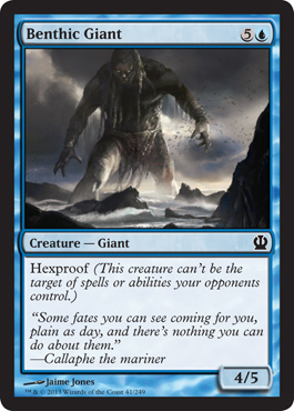 Benthic Giant | Magic: The Gathering Card