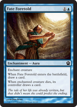 Fate Foretold | Magic: The Gathering Card