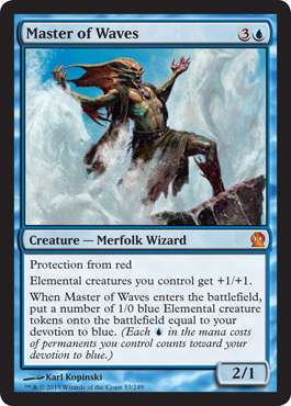 Master of Waves | Magic: The Gathering Card