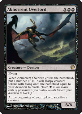 Abhorrent Overlord | Magic: The Gathering Card