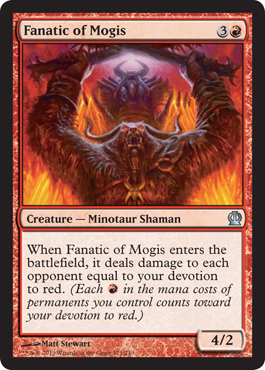 Fanatic of Mogis | Magic: The Gathering Card