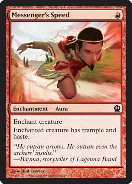 Messenger's Speed | Magic: The Gathering
