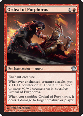 Ordeal of Purphoros | Magic: The Gathering Card