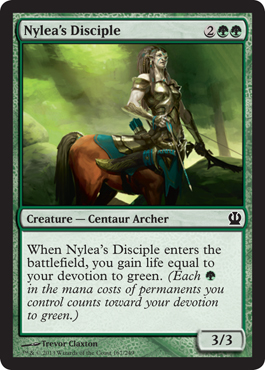 Nylea's Disciple | Magic: The Gathering Card