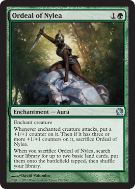 Ordeal of Nylea | Magic: The Gathering Card