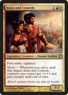 Anax and Cymede | Magic: The Gathering Card