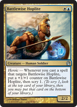 Battlewise Hoplite | Magic: The Gathering Card