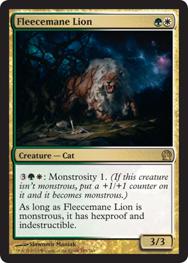 Fleecemane Lion | Magic: The Gathering Card