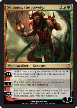 Xenagos, the Reveler | Magic: The Gathering Card