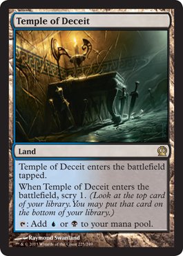 Temple of Deceit | Magic: The Gathering Card