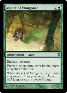 Aspect of Mongoose | Magic: The Gathering Card