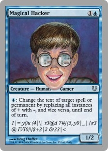 Magical Hacker | Magic: The Gathering card